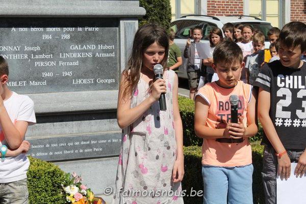 commémoration du 08mai190